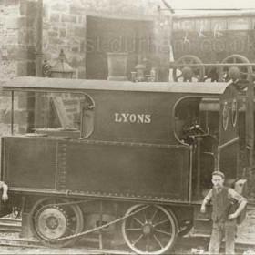 Vertical boiler engine built in Hetton.