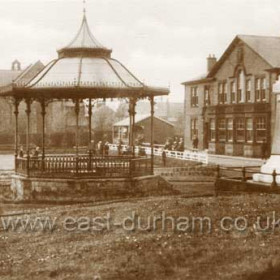 Workmen's Club and Bandstand, Hetton le Hole.