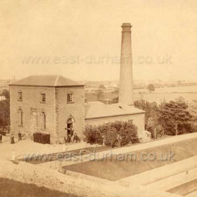 Humbledon Pumping Station c1849, if this date is correct, this is one VERY early photograph. This pumping station was built between 1846-8