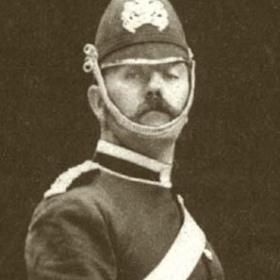 Captain JOHNSTONE  Volunteers c 1890.