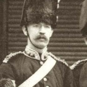 Major LAVERICK  Volunteers c 1890.