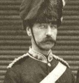 Major MALCOLM  Volunteers c 1890.