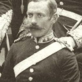Major McKENZIE   Volunteers  c 1890.