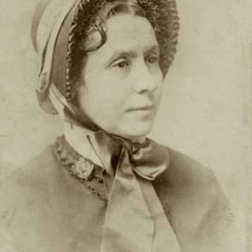 Elizabeth Miller, wife of William. Photograph 1881