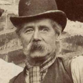 J Nicholson. builder, photograph 1905