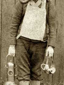 R BARLOW, (Overman).  Explorer at Seaham Colliery Explosion, Sept 8th 1880.