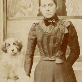 Maggie Bleasedale, born c 1879