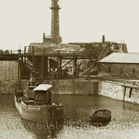 Grappler in the North Dock before 1939.