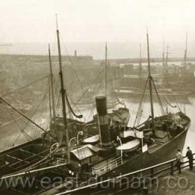N Dock in 1903.