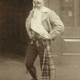 Marco, Mr J M Nicholson. The Gondoliers, Seaham Harbour Amateur Operatic Society 1913. Performed in the Drill Hall.