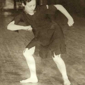 Cinderella, miniature pantomime, Theatre Royal 1934. Nancy Morell, speciality dancer.