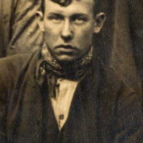 "W PROUD   Photograph from ""First ambulance class Dawdon Colliery c 1924?"""