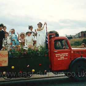 One of the floats from 1963 Civic Show Photograph from Jamie Cole