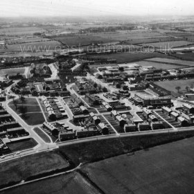 Peterlee c1950 There is a 1948 article in the history section describing the proposed new town of Peterlee. Photograph from Stafford Linsley