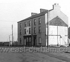 The Braddyll Arms,1834-1964 Adolphus st, Closed late Nov 64 Photo Dec 1964. Landlord Thomas Chilton was nicknamed Nicky Nack Chiltern because of the huge collection of gadgets and artefacts from around the world, displayed in his pub iin 1834. It was named the Braddyll after Col T R G Braddyll who built the railway  ( which ran right by this pub ) from his S Hetton Colliery to Seaham Dock. Thomas Chilterns Brewery in Lord St (behind the Braddyll) owned 12 pubs and inns, 8 of these in Seaham, Northumberland Arms, Marlborough Inn, Braddyll Arms,Londonderry Arms, Lord Byron, Castlereagh Hotel, New Seaham Inn.
