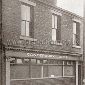 Canterbury Arms, North Railway St c 1950.