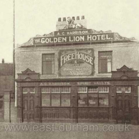 The Golden Lion at the junction of South Railway St and Green St