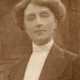 WIFE of Rev Ramsbotham Christ Church c 1908.