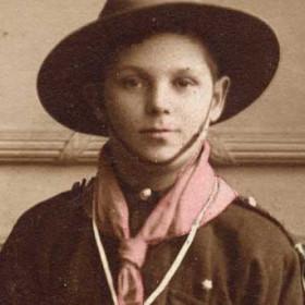 W J RENWICK aged 12 later husband of Mrs A Renwick