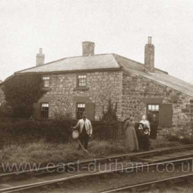 Railwaymans cottage, Hetton railway, Warden Law area. Any info would be very welcome.