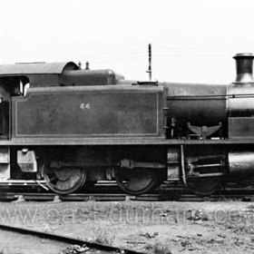 Loco No. 44 built in 1917. Ex NCB engine at Seaham Dock from 1960 until scrapped in 1963.