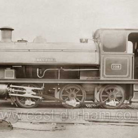 """Loco 108 """"Hector"""" built by Hawthorn Leslie, Newcastle. No other info, can anyone help?"""