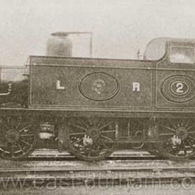 Londonderry Railway, side tank loco number 2.