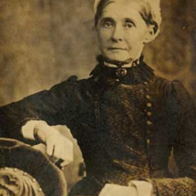 DOROTHY SAUNDERS  Matron of Hospital, Tempest Rd. Died in 1890 aged 56