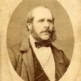JOSEPH GORDON Captain of Barque Trio (Sunderland) c1870s