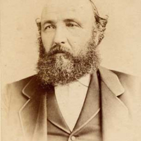 """Capt Robert Robson 1826-1907 sea captain then lighthouse keeper at Seaham 1894-1902. In 1883 he was captain of the """"Dawdons"""" of Seaham."""