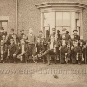 Seaham Colliery Officials in May 1882