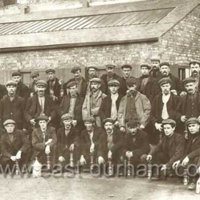 Hewers at Seaham Colliery ( Nack ) around 1920
