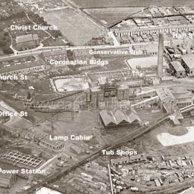 Seaham Colliery from the south in 1928.