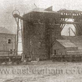 Seaham Colliery about 1935 just prior to changeover from steam to electric power.