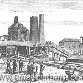 Seaham Colliery after 1880 explosion.