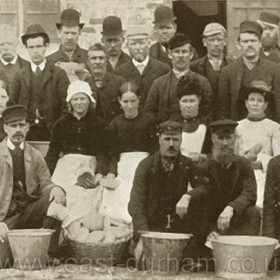 Soup Kitchen at Seaham Colliery during a strike in 1892