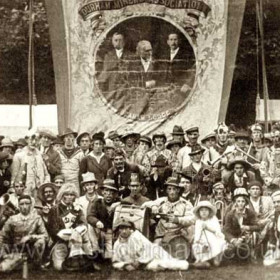 Seaham Colliery banner c1925