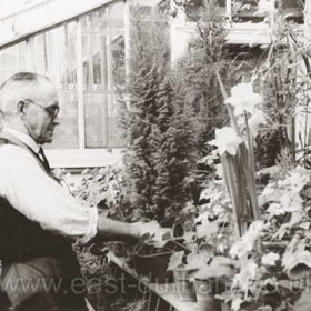Gardener at Seaham Hall, 1930s?