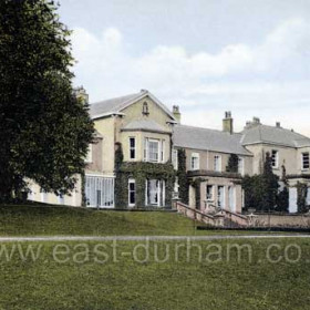 Seaham Hall, date not known but probably c1910