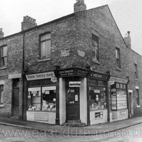 Dave Smith's general dealer and greengrocer at the junction  of Emily St and Charles St around 1970 formerly a butcher shop owned by Burley and I think an electrical shop between times. He also owned Adam and Eves Gardens which operated as a market garden after the closure of the pub. His son Dave now lives there in a house built in the 1980's.