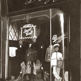 Opened in the early 1920's A R Doggart's drapery shop at 58 and 59 Church St traded until 1981, later McKays.