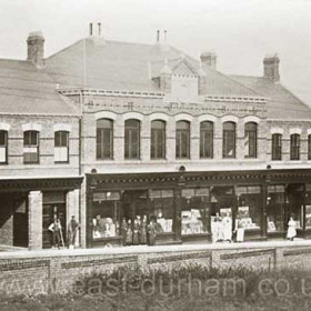 Seaham Harbour Co-op, Castlereagh Road around 1900 opened 1881