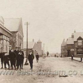 Shotton Colliery Post Office, T G Robinson.