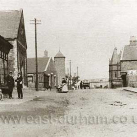 Shotton Colliery Post Office. Photograph from Potto St to Front St.