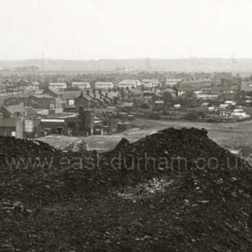 Shotton Colliery from th pit heap.