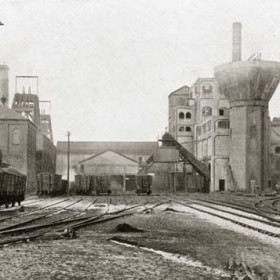 Shotton Colliery from the south c1929.   Photograph from Bob Williams