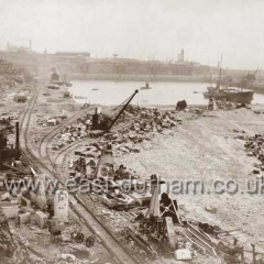 Enlargement of South Dock, 7th Sept 1903