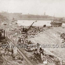 Enlargement of South Dock, 7th Sept 1903
