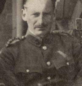 Captain R THOMPSON   Volunteers 1911.