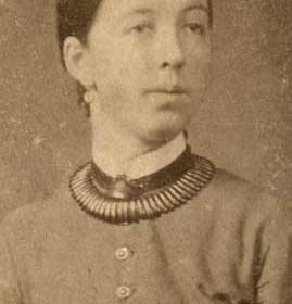 JANE ANN THOMPSON nee Reed. Relation of Phoebe Tempest